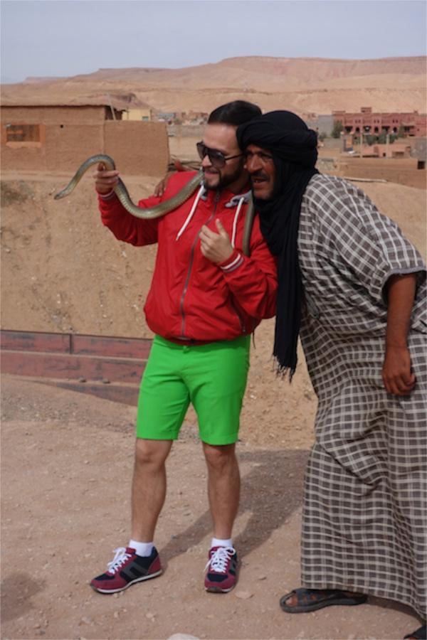 ツアーでいっしょだったメキシコ君があまりにも映画のハングオーバーのやつに似てた。キャラもそのまんま。最高でした