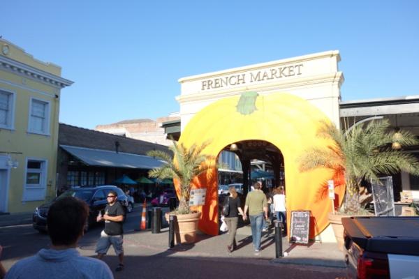 マーケットストリートという市場的なもの