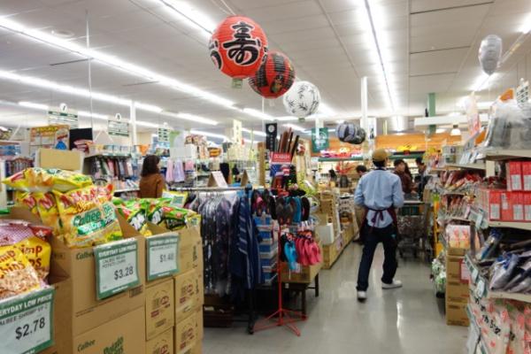 ダイソーが経営しているスーパー。完全に日本