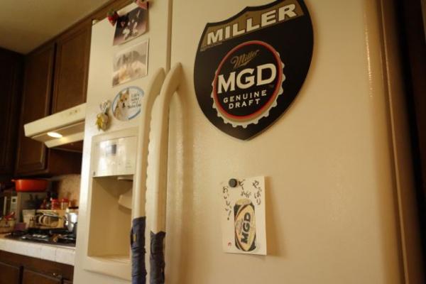 マグネットでかすぎる。Millerへの愛、でかし