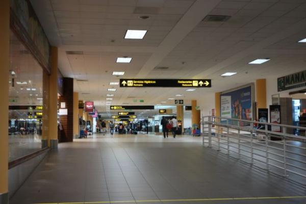 空港は全体的にかなりきれい。