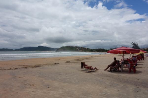 リゾートチックなビーチです