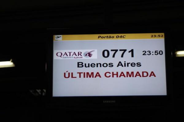 本来の搭乗時刻は 17:45