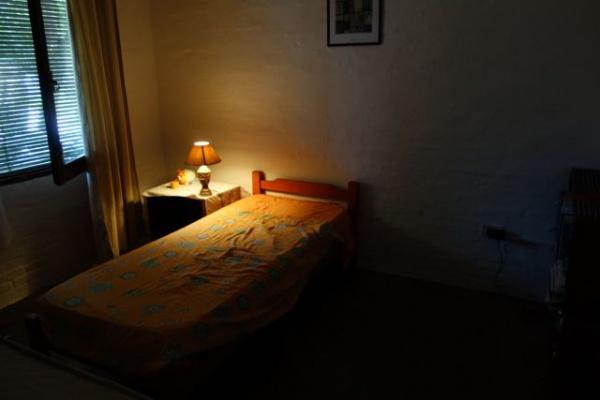 借りた寝室